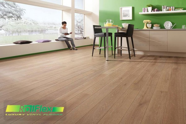 Sàn nhựa vân gỗ vinyl railflex