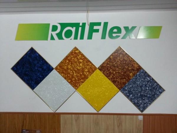 Sàn nhựa hèm khóa, Sàn nhựa dán keo … thương Hiệu RAILFLEX