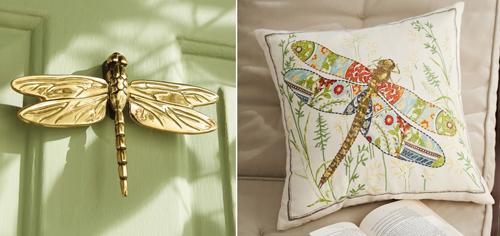 Chuồn chuồn là con vật của cả nước và gió, mang ý nghĩa may mắn và đại diện cho tinh thần tự do, hoang dã.