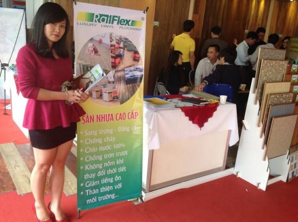 Hội chợ triển lãm sàn nhựa tại Hà Nội