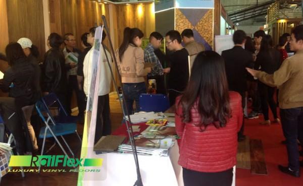 Hội chợ triển lãm sàn nhựa tháng 11/2014 tại Hà Nội