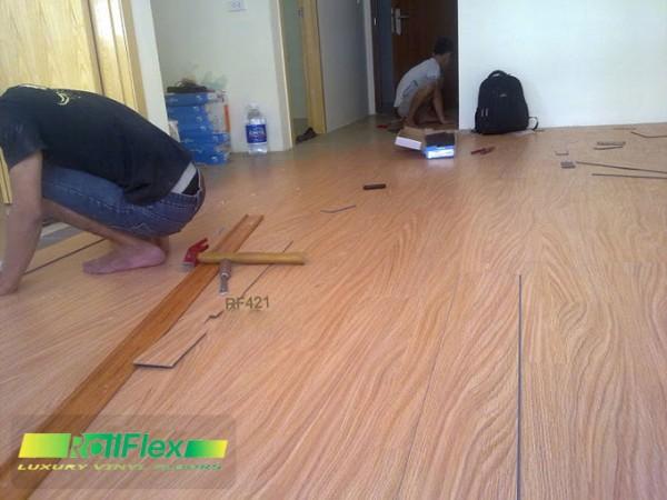 Sàn nhựa vân gỗ mã RF408