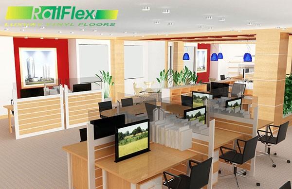 Thiết kế nội thất văn phòng công nhân viên