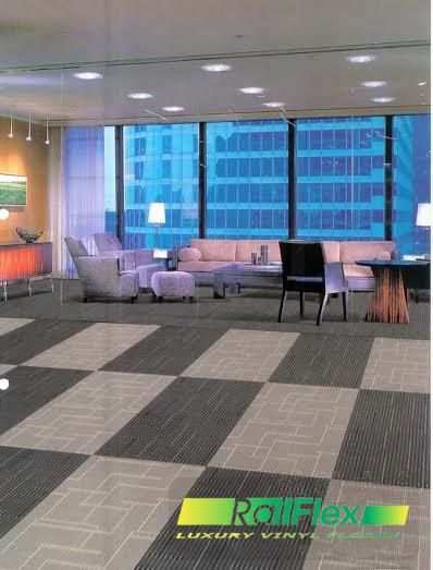 Sàn nhựa vân thảm lắp đặt cho căn hộ hiện đại